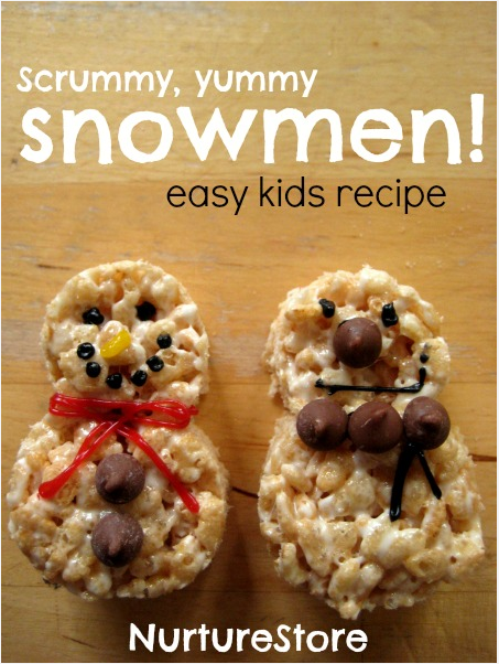 Prepare some snowman treats