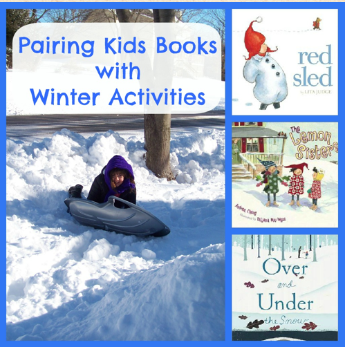 Read snow books and play snow games