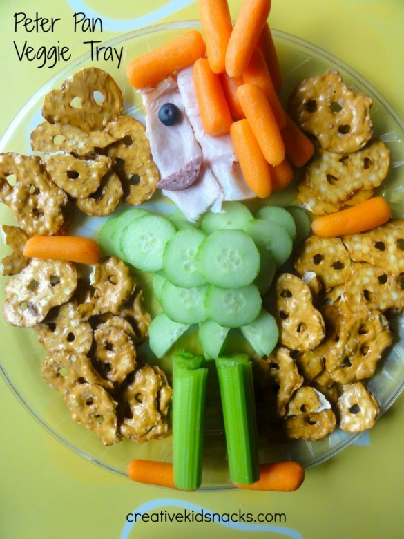 Peter Pan Veggie Tray