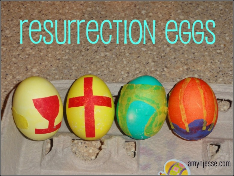 "How to make ""resurrection eggs"" to tell the Easter story as you color eggs this year."
