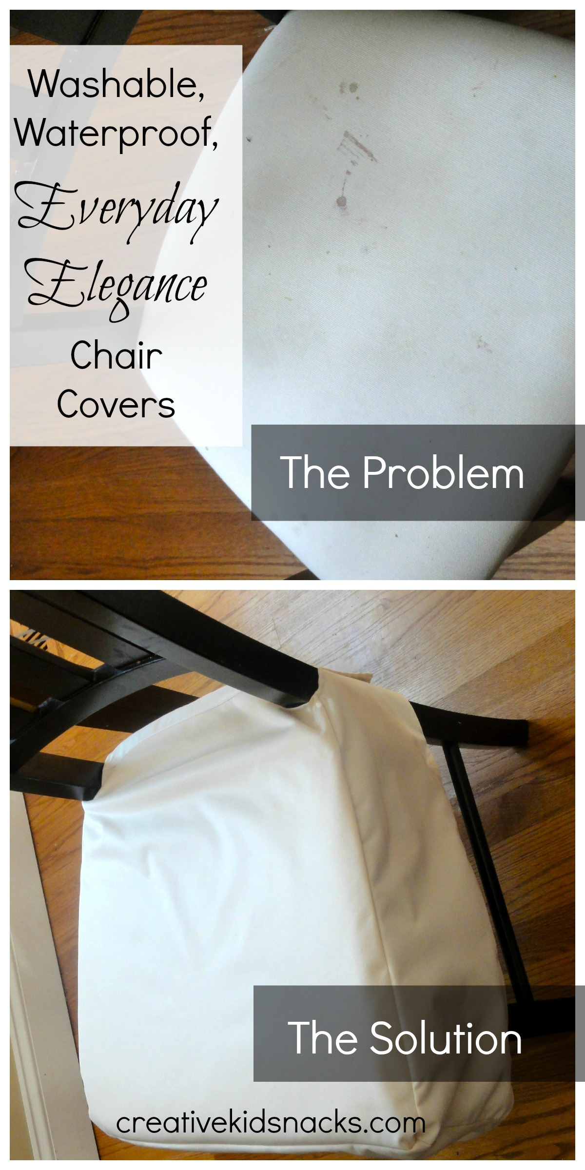 Vive Vita Everyday Elegance Chair Covers Review and Giveaway : Chair Pinnable from www.creativekidsnacks.com size 1200 x 2400 jpeg 525kB